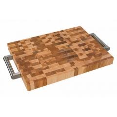 bloc à dépecer en bois d