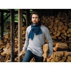 Écharpe en tricot Roots