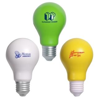 PJL-013 balle anti-stress en forme d'ampoule