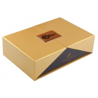 ENS-046 boîte d'or remplie de produits Godiva