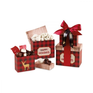 PJL-5826 Boîtes-cadeaux avec 4 sortes de friandises