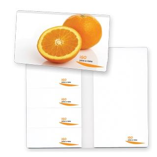 PJL-468 carnet exécutif avec tablettes à feuilles adhésives multiples