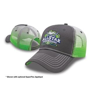 PJL-5780 casquette avec filet dégradé