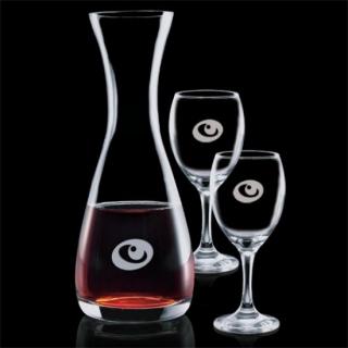 ENS-017 décanteur à vin avec 2 coupes