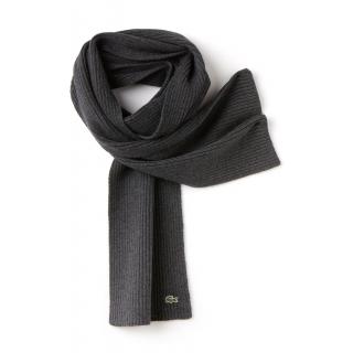 PJL-5460 écharpe lacoste en laine moulinée cotelée