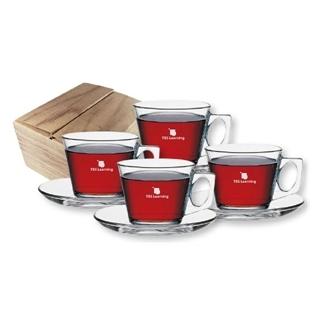 PJL-4954 Ensemble-cadeau tasses à cappuccino