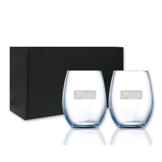 ENS-059 ensemble de 2 verres Chef & Sommelier