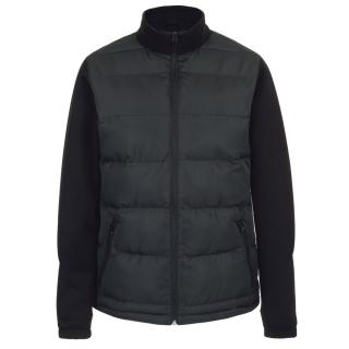 PJL-3922 manteau duo de textures