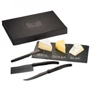 PJL-4971 Service de planche et couteaux à fromage Laguiole