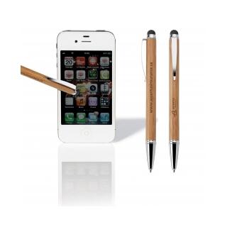 PJL-3167 stylo en bambou avec stylus
