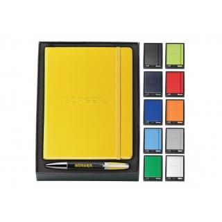 ENS-003 stylo métal et carnet de notes