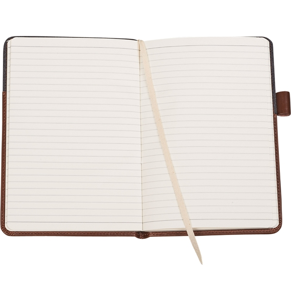 Cahier de notes en cuir
