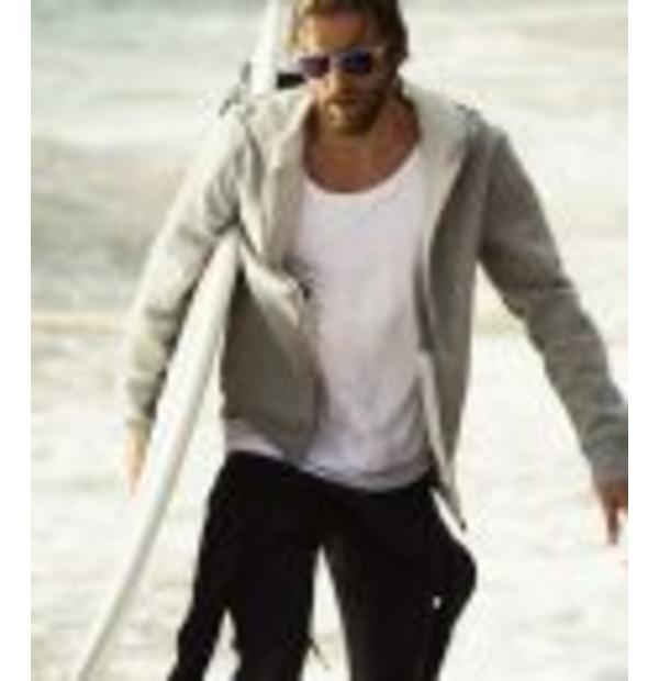 Veste à capuche avec doublure polaire