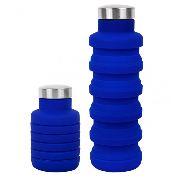Bouteille d'eau pliable en silicone