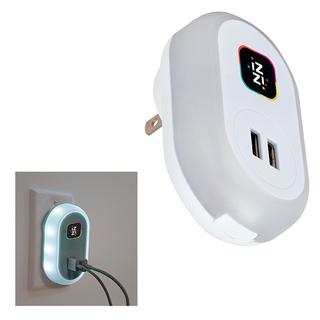 PJL-5706 Chargeur USB mural avec veilleuse