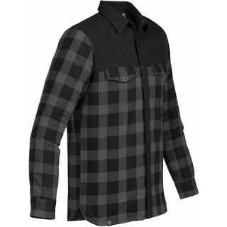 PJL-5414 chemise à carreaux doublée de molleton