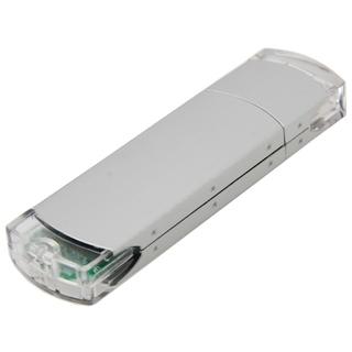PJL-3335 Clé USB - métal et plastique translucide