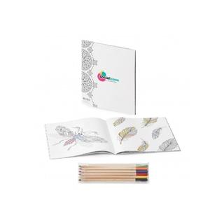 PJL-5206 Combiné de livre de coloriage anti-stress