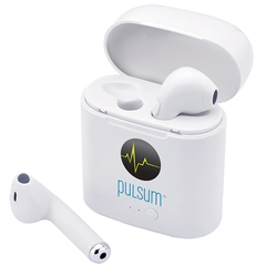 Écouteurs Bluetooth avec chargeur intégré dans l
