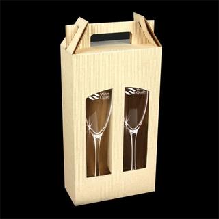 PJL-351 ensemble de 2 coupes à champagne