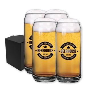 PJL-5352 ensemble de quatre verres à bière 20oz