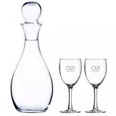 Ensemble élégant pour le vin