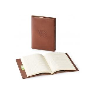 PJL-5194 Journal rechargeable en cuir véritable