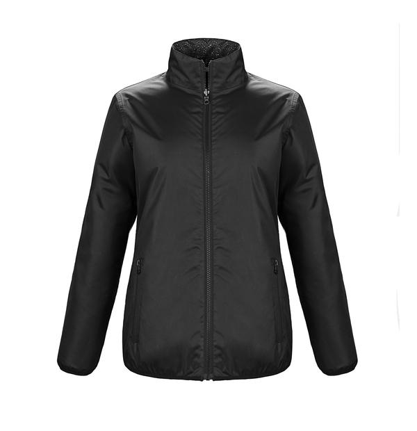 Manteau de pluie réversible avec tissu réfléchissant