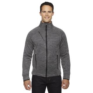 PJL-5475 manteau texturé en molleton contrecollé