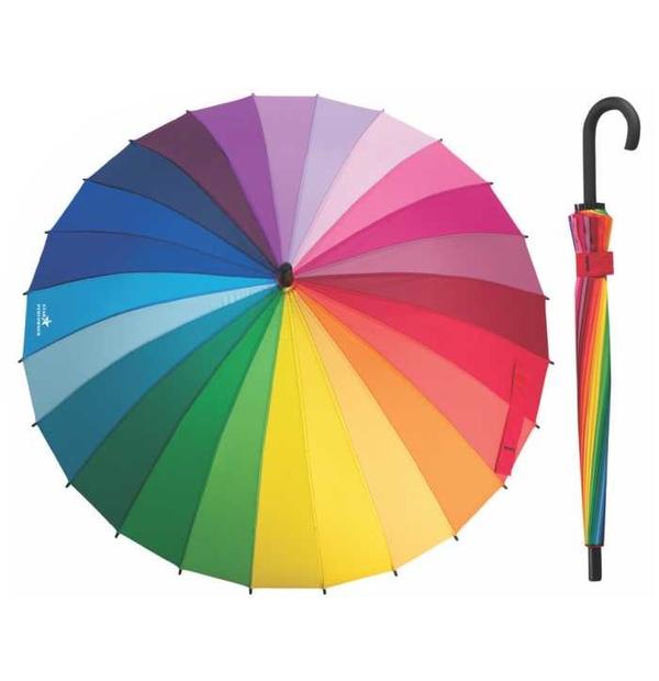parapluie multicolore