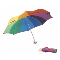 parapluie multicolore rétractable