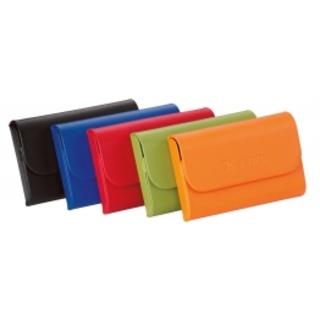 PJL-200 porte-cartes en cuir, magnétique
