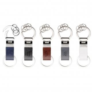 PJL-2528 porte-clés en vinyle avec 3 anneaux détachables