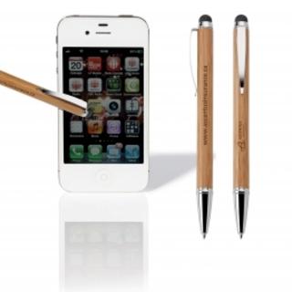PJL-3167 stylo en bambou avec stylet