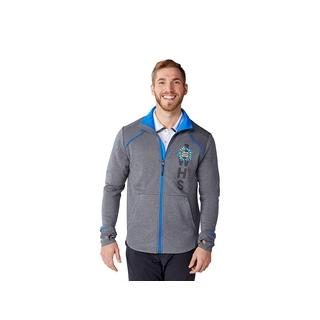 PJL-6241 Veste en tricot avec fermeture éclair contraste